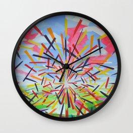 Quantum Phenomenon Wall Clock