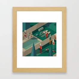 Habitat 21 Framed Art Print