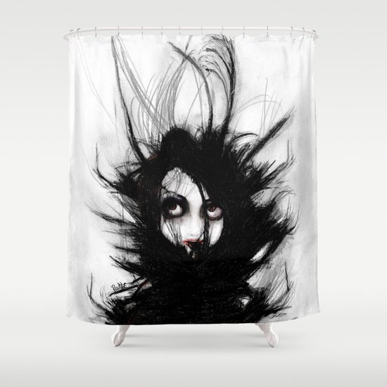 Coiling and Wrestling. Dreaming of You Shower Curtain