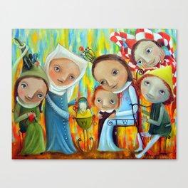 Nannies Canvas Print