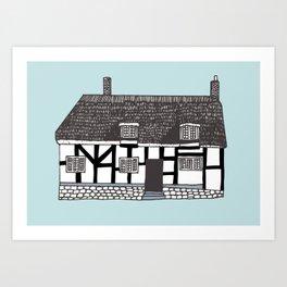 'Coventry' House print Art Print
