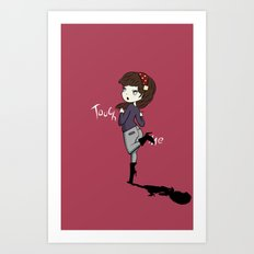 Touch Me ! Art Print