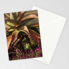 meanwhile in california Stationery Cards