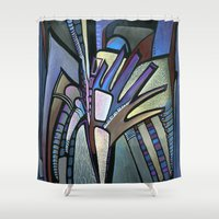 wings Shower Curtains featuring WINGS by Deyana Deco