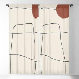 Minimal Geometric 64 Blackout Curtain