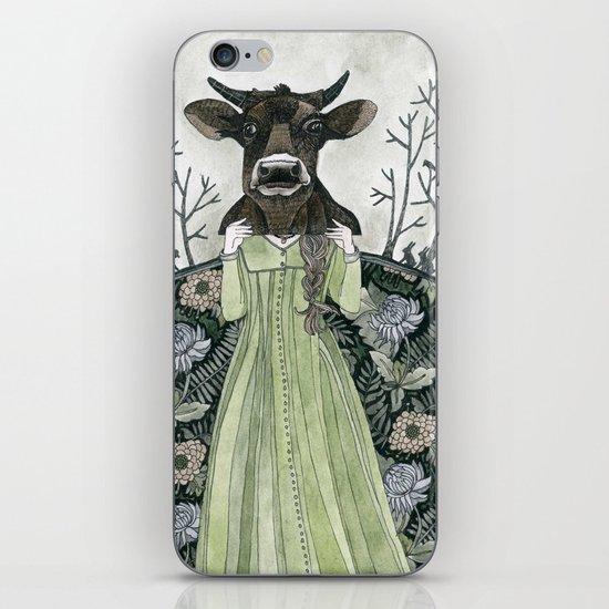 Cow Mask iPhone & iPod Skin