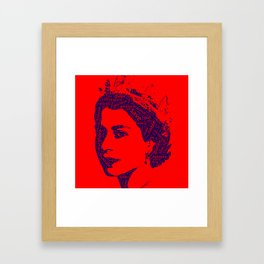 God Save The Queen Framed Art Print