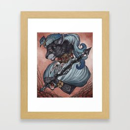 Jack of Spades art print Framed Art Print