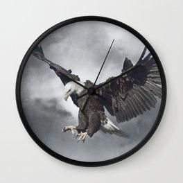 Eagle Spirit Wall Clock