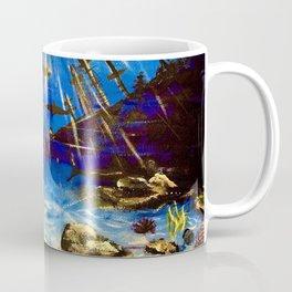 Shark Seascape Coffee Mug