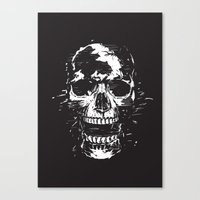 scream Canvas Prints featuring Scream by Balazs Solti