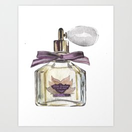 parfume Art Print