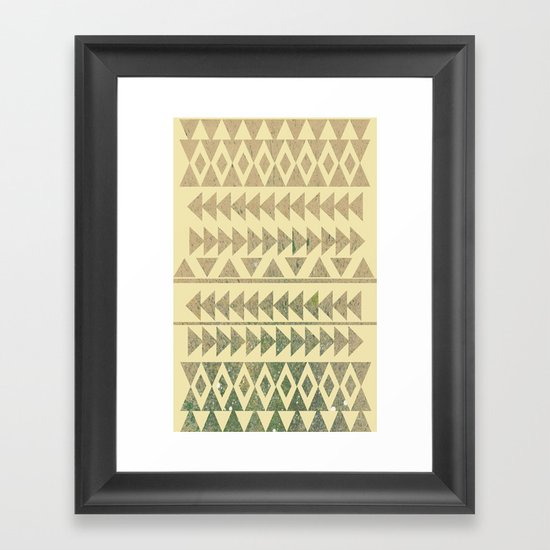 Earthtone Framed Art Print
