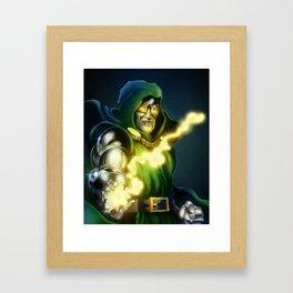 Dr. Doom - Marvel Villain Series Framed Art Print