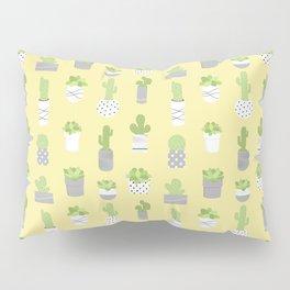 Succulents & Cacti - Yellow Pillow Sham