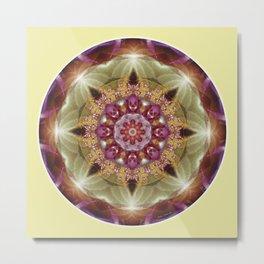 Mandalas from the Heart of Peace 1 Metal Print