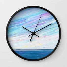Seascape Wall Clock