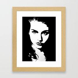 Frances Bean Cobain Framed Art Print