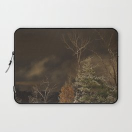 Dark Snowfall 002 Laptop Sleeve