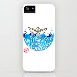 Whatever floats your boat iPhone Case
