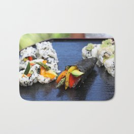 Sushi California Roll Bath Mat