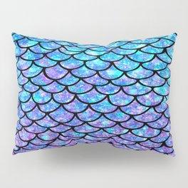 Purples & Blues Mermaid scales Pillow Sham