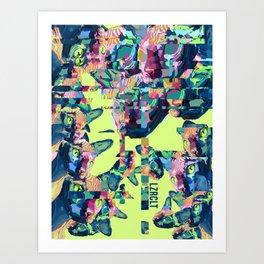 LZRCLT Merchandise - Poster Art Print