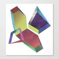 saturn Canvas Prints featuring saturn by sofia de eça