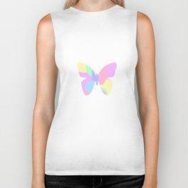 Butterfly Happiness Biker Tank