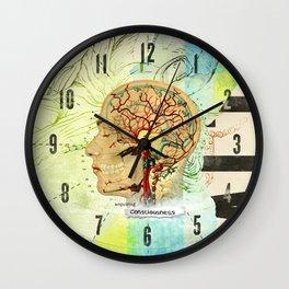 Aquiring Consciousness Wall Clock