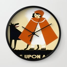Red Riding Hood Wall Clock