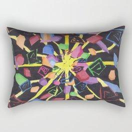 On edge #3 #watercolor #art #decor #society6 Rectangular Pillow