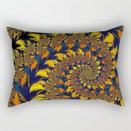 Autumn Leaf Maelstrom Rectangular Pillow
