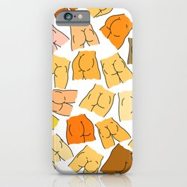 Butts Party iPhone Case