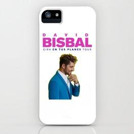 DAVID BISBAL - GIRA EN TUS PLANES TOUR iPhone Case