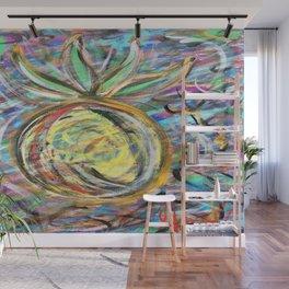 Miami Pineapple Wall Mural