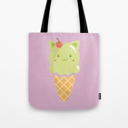 Pistachio Ice-cream Tote Bag