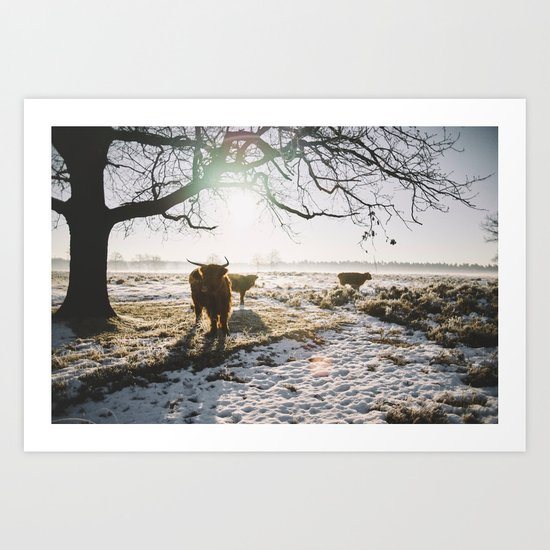 Simple wildlife Art Print