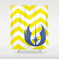 jedi Shower Curtains featuring Star Wars Jedi Chevrons by foreverwars