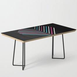 Transcend Neon Heart Coffee Table