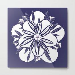 Murasaki flower Metal Print