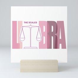 LIBRA - The Scales Mini Art Print