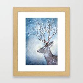 Winter spirit Framed Art Print
