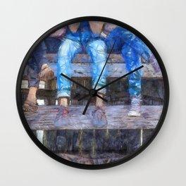 Three Amigos Wall Clock