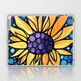 Standing Tall - Sunflower Art By Sharon Cummings Laptop & iPad Skin