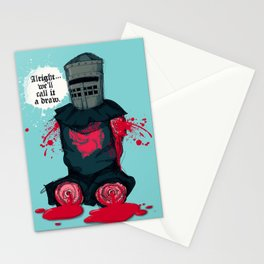 The Black Knight 2 Stationery Cards
