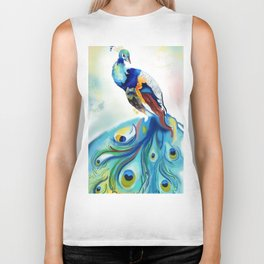Bewitching feathers Biker Tank