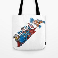 4 aginst one Tote Bag