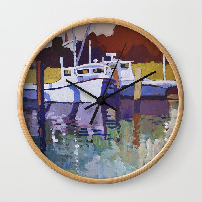 Deadrise Wall Clock