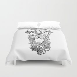 Stay Rad of Be Consumed  Duvet Cover